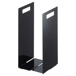 Tower/タワー 連結タオル収納ラック2個組 (イ)ブラック