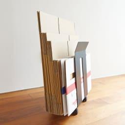 ダンボール&紙袋ストッカー フレーム 使用イメージ