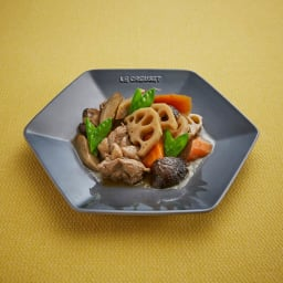 LE CREUSET/ル・クルーゼ New Year Collection ロッカク・プレート S