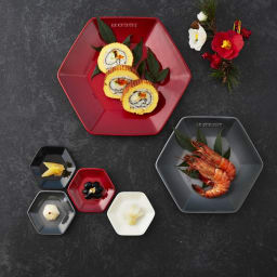 LE CREUSET/ル・クルーゼ New Year Collection ロッカク・プレート L