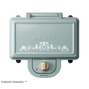BRUNO  ムーミン ホットサンドメーカー ダブル(2枚焼き) 写真