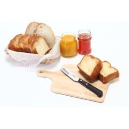 MAC バタ-ナイフ (チーズナイフ) 切る・塗る・すくう・つぶすがこれ一本で!忙しい朝食の準備にも大活躍する、「モーニングナイフ」です。