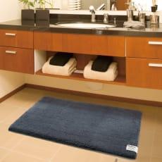 ボリューム素材のバスマット クッショニー 洗面マット