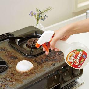 オレンジオイルの力で家中お掃除! 住宅用洗剤 スーパーオレンジ 480ML  写真