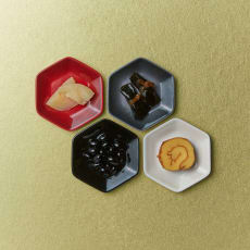 LE CREUSET/ル・クルーゼ New Year Collection ミニ・ロッカク・プレート 4枚入り ジャポンコレクション