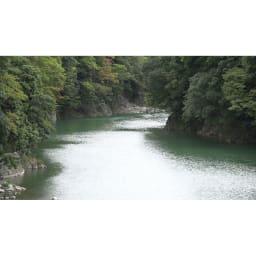 季ノ布 麻のシャリ感 風薫る皐月シリーズ 洗える麻敷きパッド 滋賀近江風景