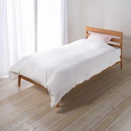 和ざらし二重ガーゼ カバーリングシリーズ 掛けカバー (オ)ホワイト ※お届けは掛けカバーです。