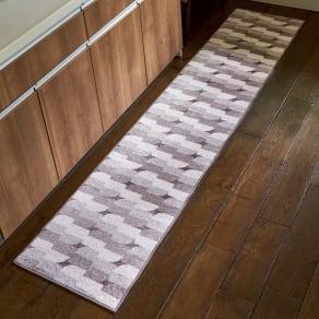 50×150cm(汚れに強いキッチンマット〈リトゥミ〉) 写真