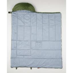クッション型多機能寝袋SONAENO 生地には抗菌防臭加工付き。丸洗いもできるので清潔に使えます