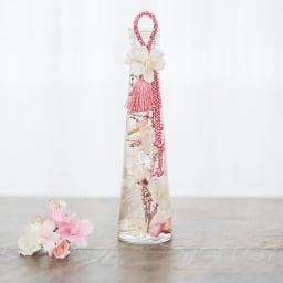 桜のハーバリウム ア)クリームピンク系(桜)