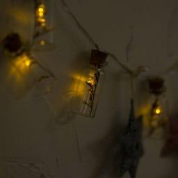 ミニボトルドライフラワー LEDライト