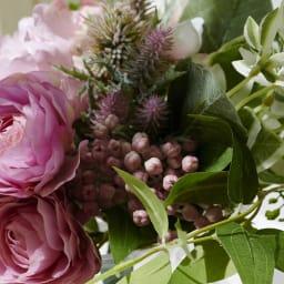 PRIMAメルシーブーケ ピンク系 ハツユキソウなど明るいグリーンをチョイス。お部屋が明るくなります