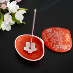 4種の桜のお香&貝の香皿 セット