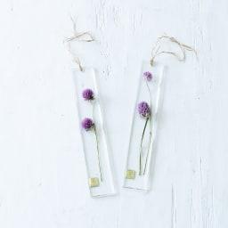 KieKa フラワープレート できるだけ同じものをピックアップしてお作りしますが、一つ一つ異なる花の表情をお楽しみください