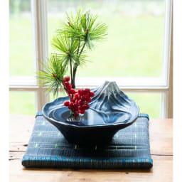 雫影 水盤「さかさ富士」