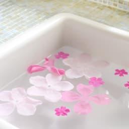 ソープフラワー ブーケ ピンク 飾って楽しむだけでなく、入浴剤としても使用できます