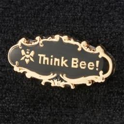 Think Bee!長財布 オーバーザレインボー 背面ロゴ