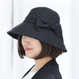 折りたためるつば広UV帽子 ツバが広く日焼け防止にも安心