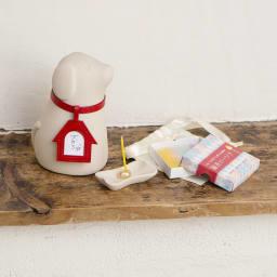 コッコリーノ【Coccolino】 ワンチョB ネーム彫付き ステージ付き フルセット ハウス・レッド セット例