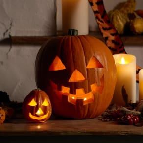 わが家の手づくり ハロウィンかぼちゃ -ジャック・オ・ランタン- 写真