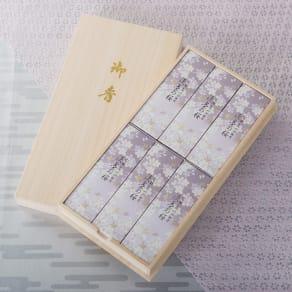 淡墨の桜 桐箱サック6入り 写真