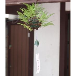 【父の日ギフト】匠の作った吊りしのぶ 写真