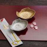招福鯛 小皿2枚セット(金・銀) 写真