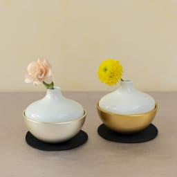 Sotto チェリング(香立て・火立て・花立て) 祈りのタイミングで花器を外すと火立て、香立てが使用できます ※花材は付属しません