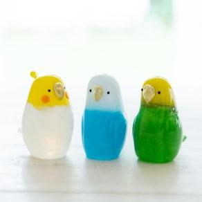 小鳥のインテリア「わたしの家族 たち」 写真