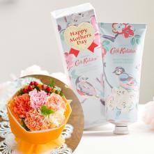 【母の日ギフト】Cath Kidston/キャスキッドソンハンドクリーム&ブーケ