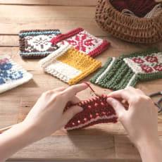 【毎月届く 手づくり頒布会】編み模様を楽しむ初めての棒針編みコレクション(2019年10月~2020年3月)