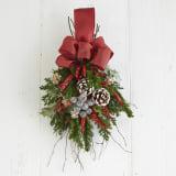 ドライ素材のスワッグ「クリスマス」 写真