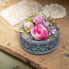 【毎月届く お花の頒布会】プリザーブドフラワーコース