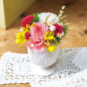 【毎月届く お花の頒布会】花日和ぷちぷりざコース 写真