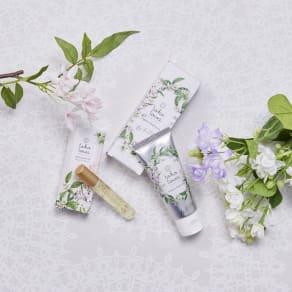 トコトワハンドクリーム&パフュームオイル ホワイト - Hope & Bloom - 写真