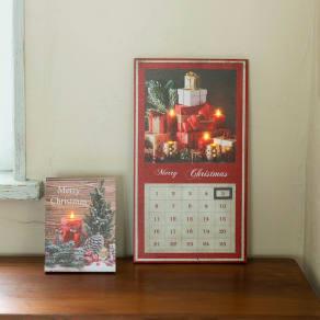 LEDアドベントカレンダー&ウォールアートセット 写真