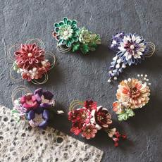 【毎月届く 手作り頒布会】艶やかに咲き誇るつまみ細工コレクション