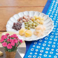 【母の日ギフト】華やぎ甘納豆とカーネーション鉢