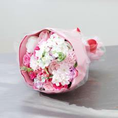 ソープフラワー ブーケ ピンク
