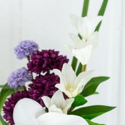 PRIMA ホワイト系胡蝶蘭入り コンパクトアレンジ供花