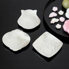 福楽 錫の豆皿3枚セット