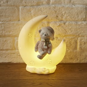 ベアオンザムーン LEDライト付き 写真