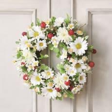 CT触媒 「ワイルドベリーリース」 アーティフィシャルフラワー 造花 壁掛け プレゼント