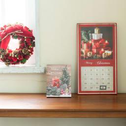 アドベントカレンダー LED ウォールライト 壁飾り 壁掛け  キャンドル クリスマス ギフト プレゼント クリスマスカラーでおうちを明るく!