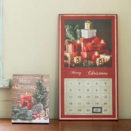 アドベントカレンダー LED ウォールライト 壁飾り 壁掛け  キャンドル クリスマス ギフト プレゼント