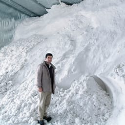 氷温熟成 魚沼こしひかりギフト 出産内祝い3個セット(出産内祝い命名パック) 雪の自然の冷熱を利用し、庫内を5度以下に保ちます。