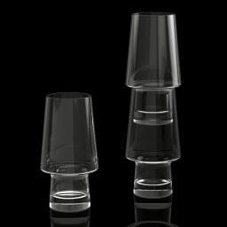 magisso/マギッソ ピノ・パイントグラス(2個組) 重ねて収納ができるのが特徴です。