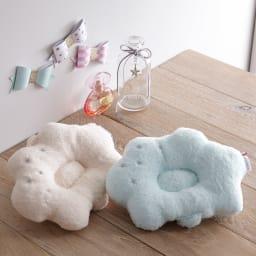 【今治産】白雲ベビータオルギフトセット(ベビー枕・タオル・スタイ) ベビー枕 (ア)ピンク、(イ)ブルー