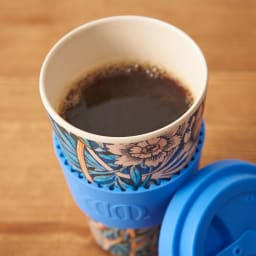 Ecoffee Cup/エコーヒーカップ 容量400ml ウィリアム・モリス柄 1個 (エ) Lily