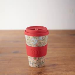 Ecoffee Cup/エコーヒーカップ 容量400ml ウィリアム・モリス柄 1個 (ウ)Corncockle